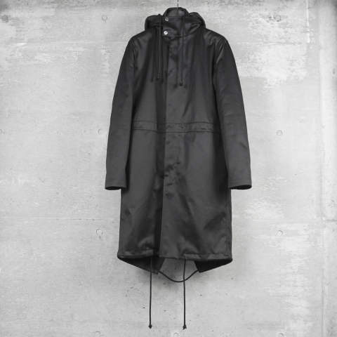 RAF SIMONS [172-709-10011-00099 / parka with indide coat]