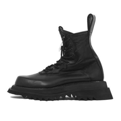 JULIUS [677FWM4-B / OVERRACING COMBAT BOOTS with HOOK BACKLE]